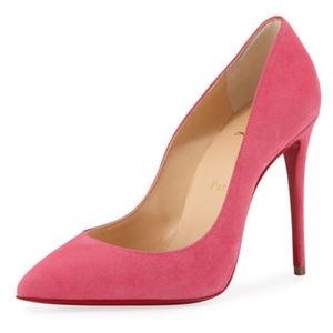 New Christian Louboutin Pigalle Follies Pink 35.5